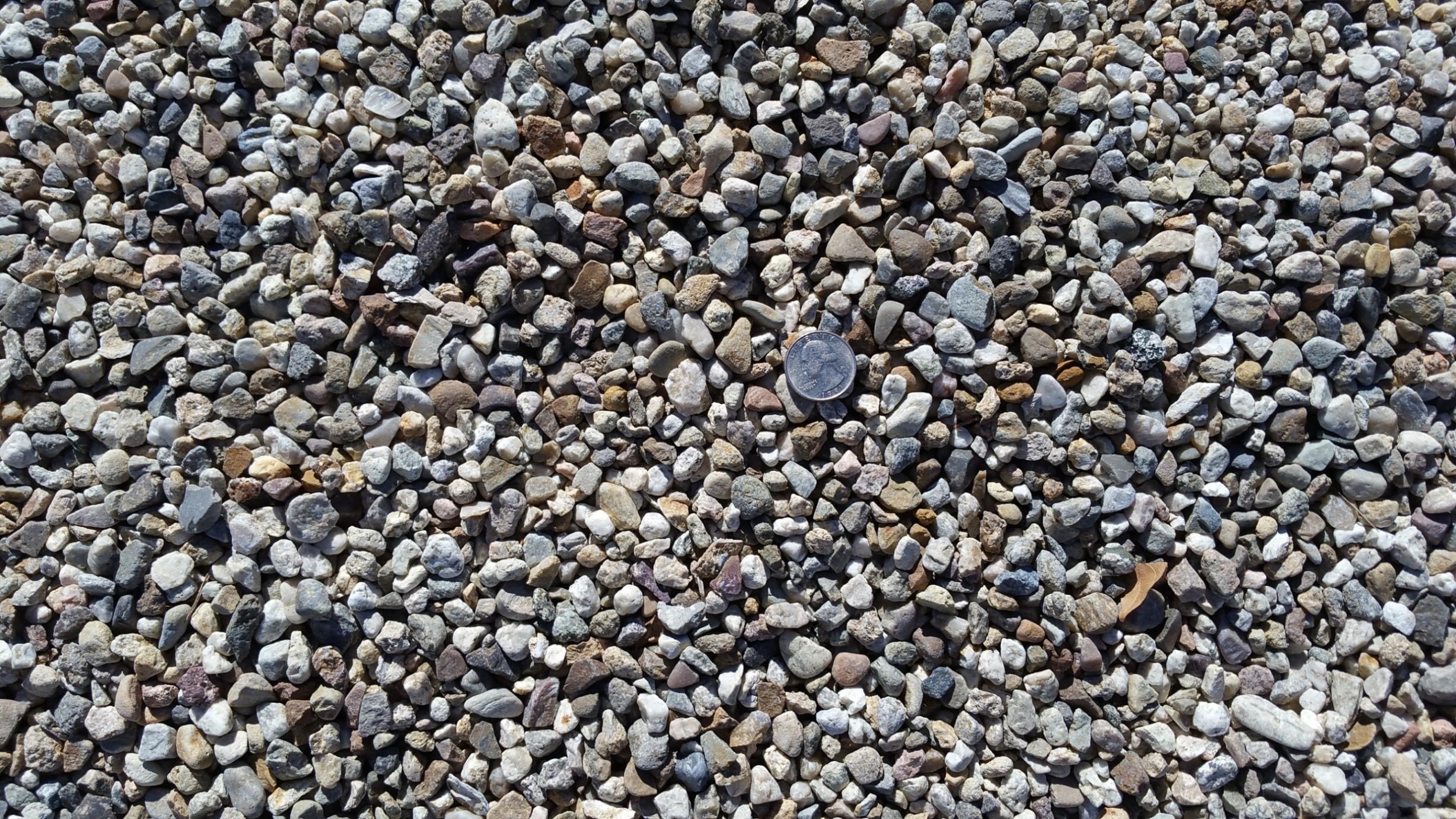 Red Pea Gravel : Sand gravel
