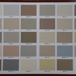 Cal Dorado color chart