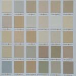 La Habra color chart